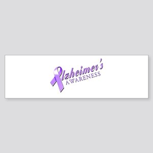 Alzheimer's Awareness Sticker (Bumper)